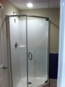 Shower Door Enclosure - After
