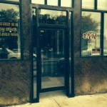 Commercial storefront aluminum door and frame  - October 21,2014