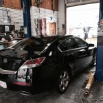 2015 Acura TL window tinted