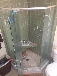 Residential shower enclosure - FINISHED - Boston, MA - July 2015