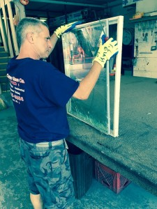 Replacing residential thermal pane window