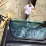 Bobcat Windshield Installation