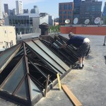 BEFORE - July 2015 - Restaurant - Custom Skylight Window Replacement - South Boston