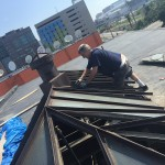 BEFORE - July 2015 - Restaurant - Custom Skylight Replacement