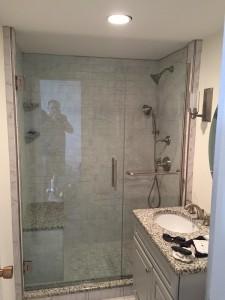 Shower Door Enclosure - AFTER - Jamaica Plain