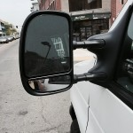 Custom Telescoping Mirror on Ford Econoline Van