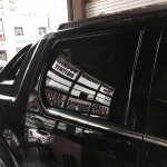AFTER - May 2015 - Cadillac Escalade right rear door glass