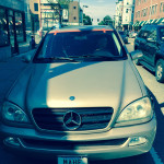 Windshield Replacement - AFTER - Mercedes