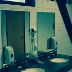 Commercial Interior Gym Bathroom Mirrors - August 2015