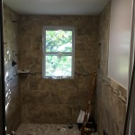 Custom shower - BEFORE - October, 10th 2015