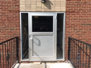 Fields Corner Glass Was Happy To Provide Our Front Door Installation  Services To A Local Apartment Building Inu2026